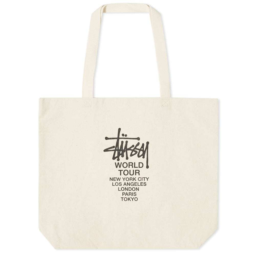Photo: Stussy Canvas Tour Tote Bag