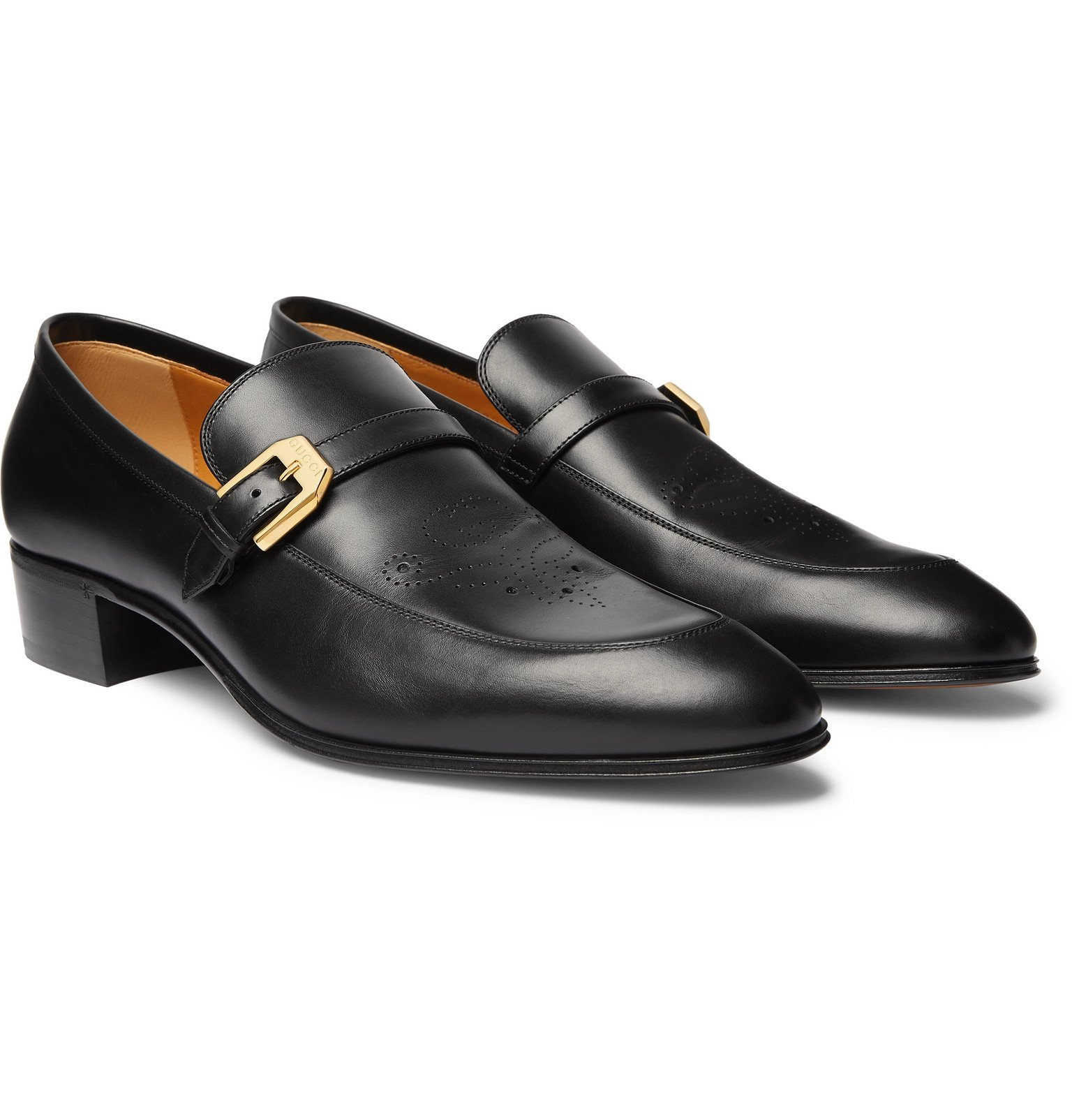 Photo: Gucci - Worsh Leather Loafers - Black