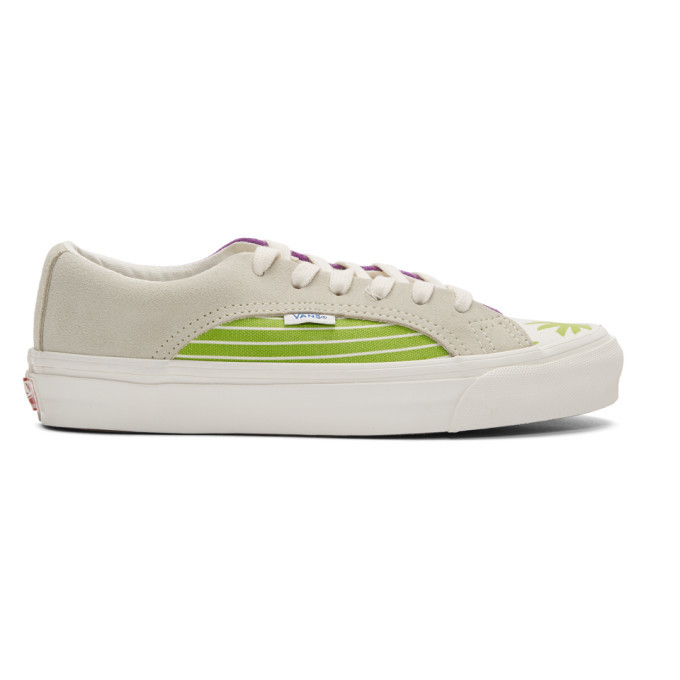 Photo: Vans White and Green OG Lampin LX Sneakers