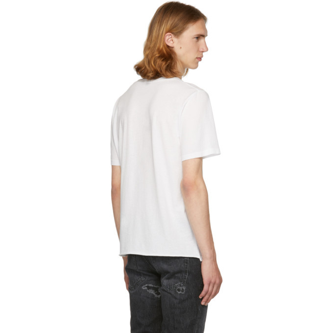 White Sorry For What I Said T-Shirt Saint Laurent