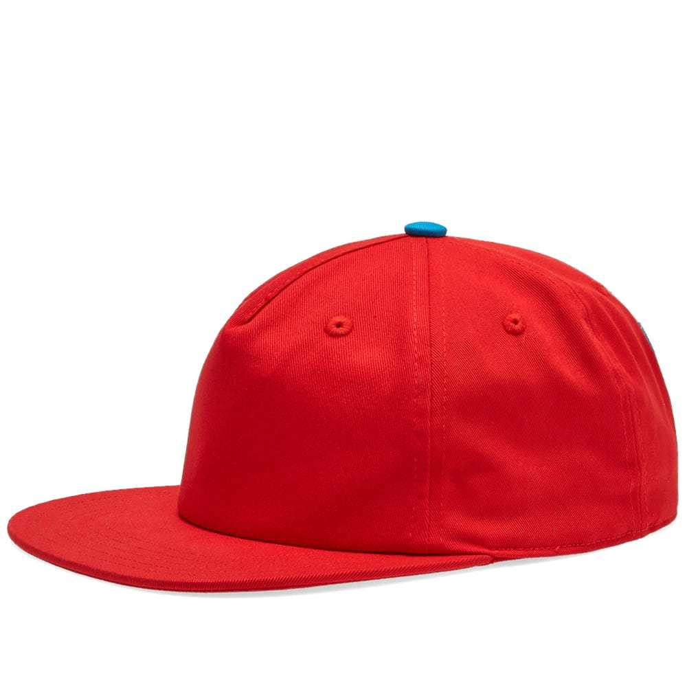 Adidas Samstag Re-Issue Cap Active Red & Shock Cyan