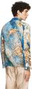 Serapis Blue Silk Sea Waste Shirt