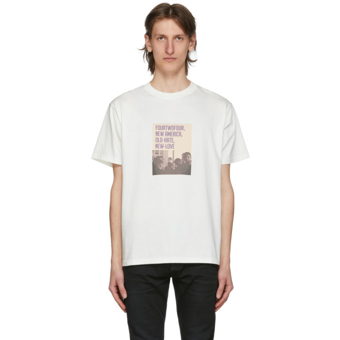 Photo: 424 White Old Hate New Love T-Shirt