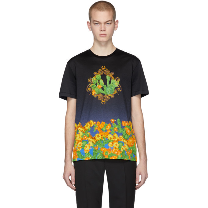 Photo: Versace Black and Blue Palm Springs T-Shirt