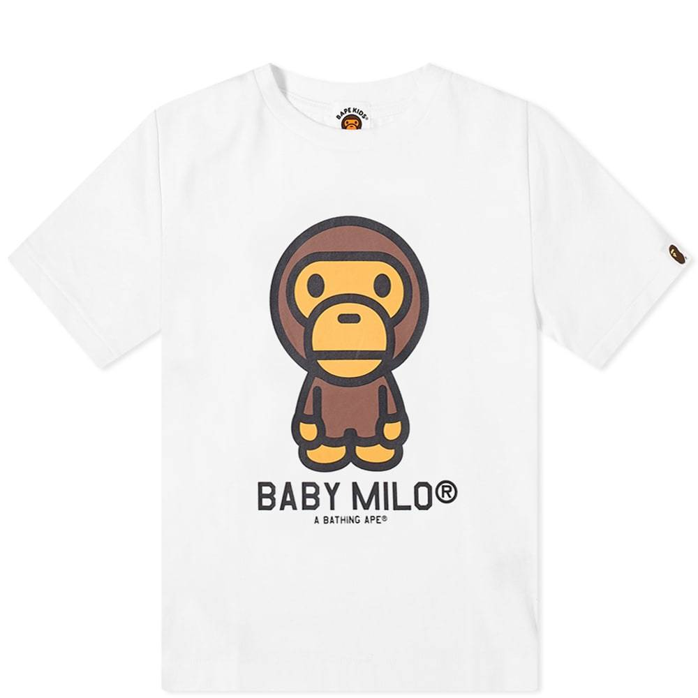 A Bathing Ape Kids Baby Milo Tee
