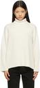 Totême Off-White Heavy Cashmere Sweater