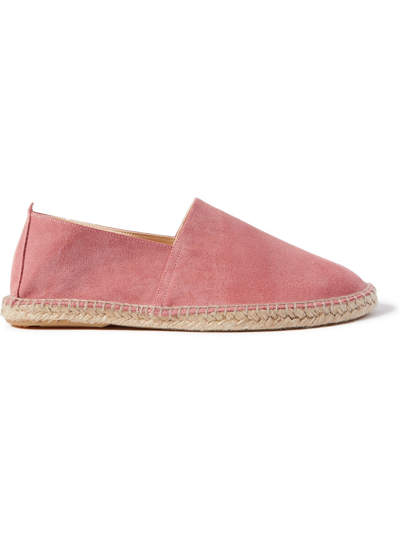 Photo: ANDERSON & SHEPPARD - Suede Espadrilles - Pink
