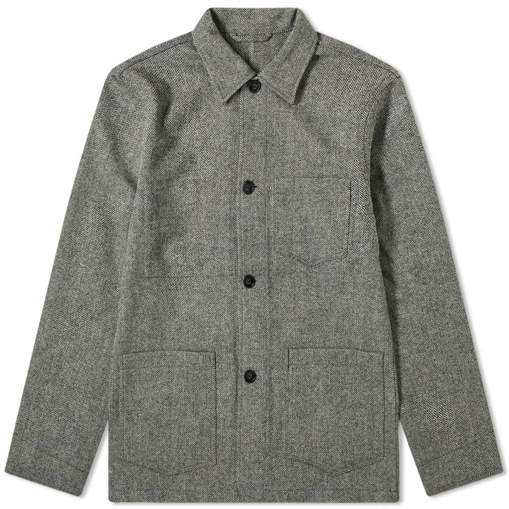 Photo: Officine Generale Wool Chore Jacket