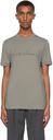 Giorgio Armani Grey Logo T-Shirt