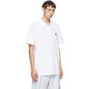 adidas Originals White Trefoil Essentials Polo