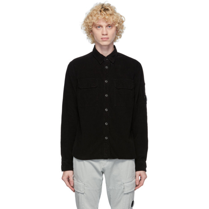 Photo: C.P. Company Black Corduroy Lens Shirt