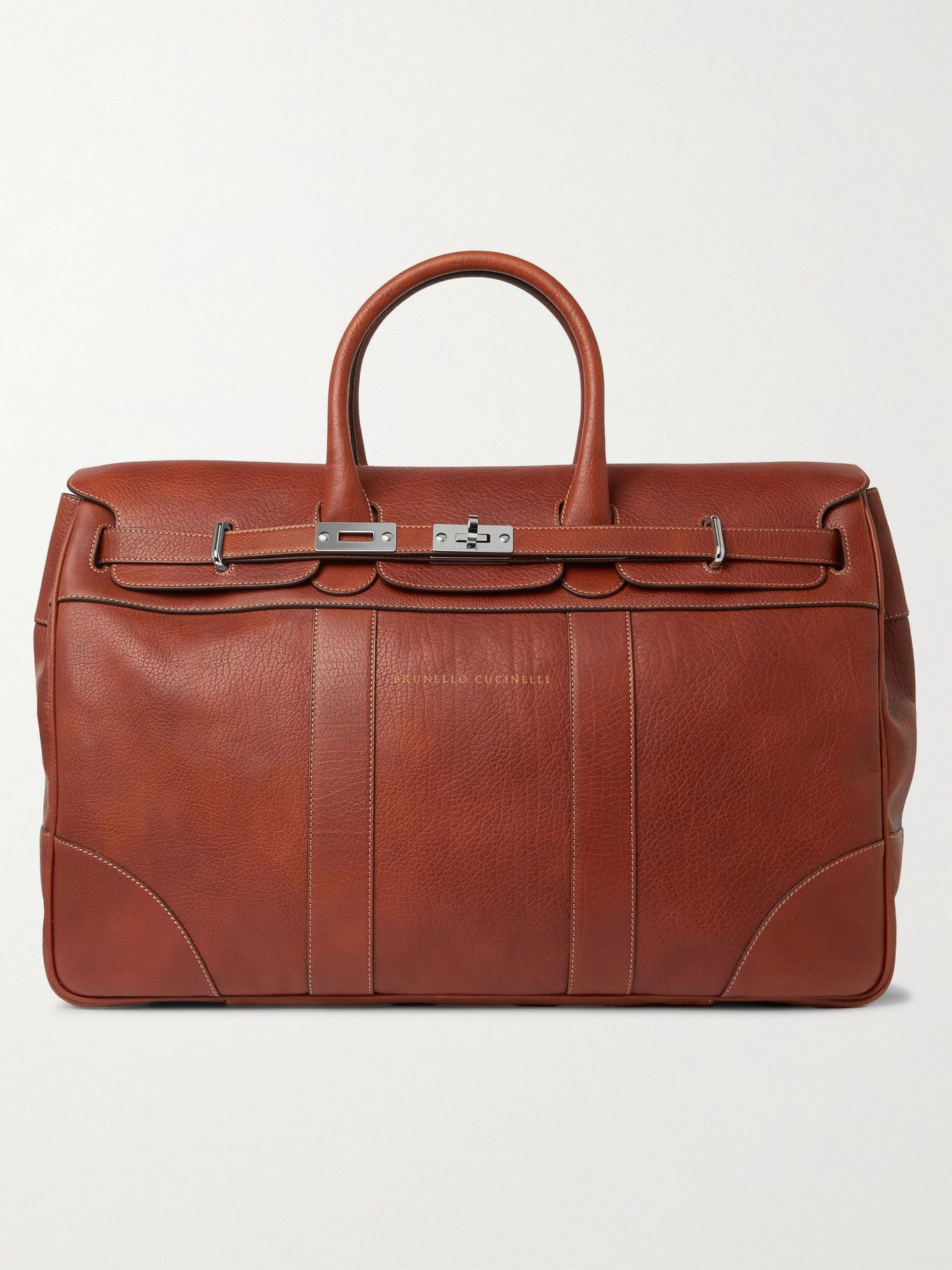 Photo: Brunello Cucinelli - Full-Grain Leather Holdall