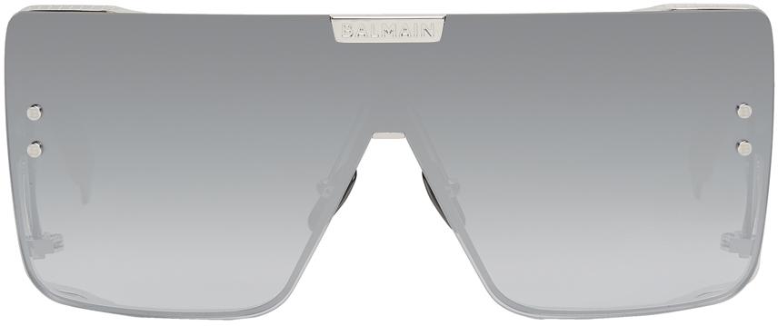 Photo: Balmain Silver Limited Edition Akoni Edition Wonder Boy Sunglasses