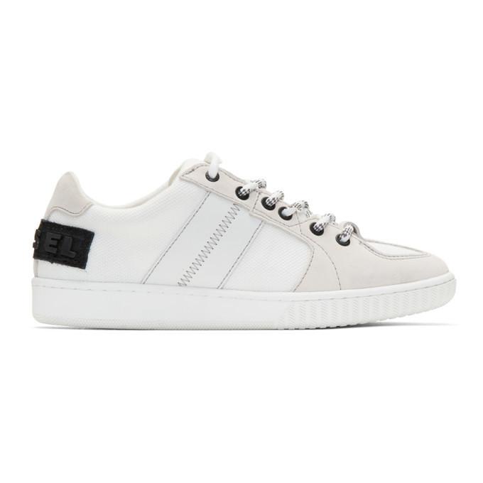 Photo: Diesel White S-Millenium LC Sneakers