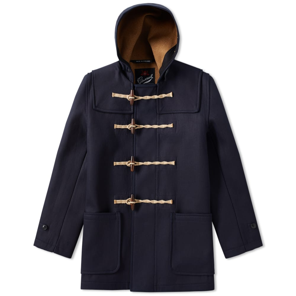 Photo: Spellbound x Gloverall Denim Duffel Coat