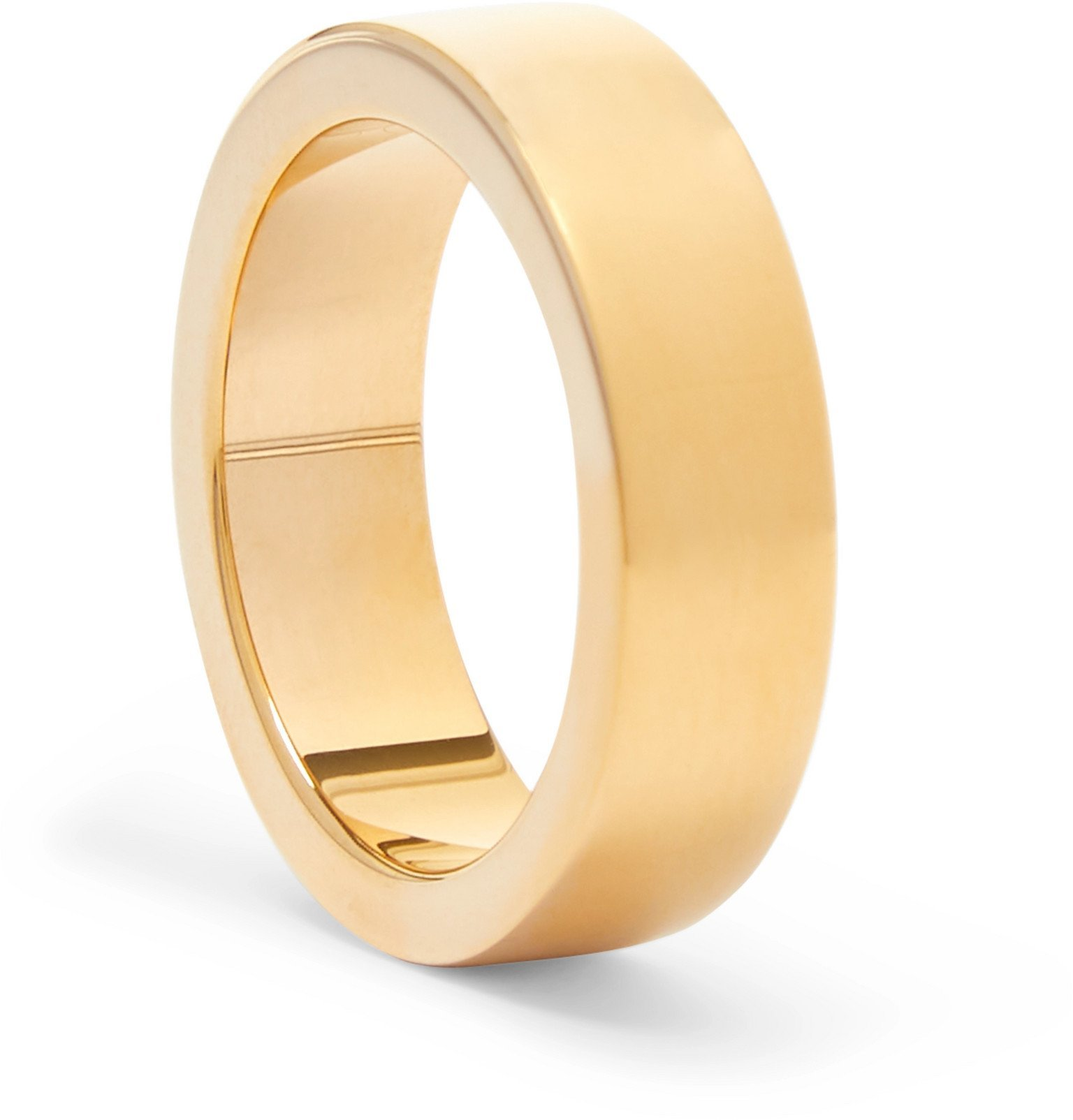 Bottega Veneta - Gold-Tone Silver Ring - Gold