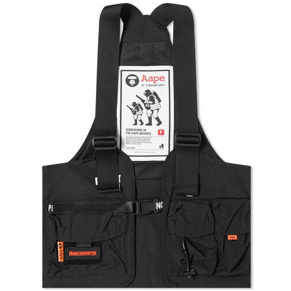 Photo: AAPE Technical Vest