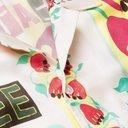 Martine Rose - Camp-Collar Printed Voile Shirt - White