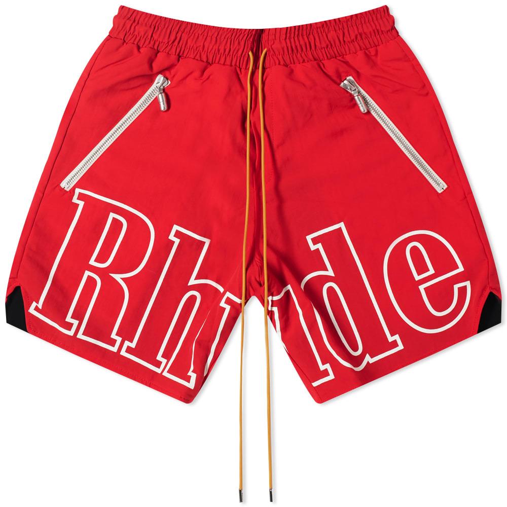 Photo: Rhude Logo Short