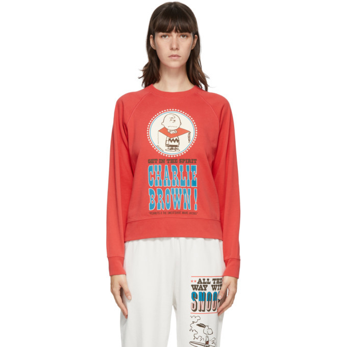 Photo: Marc Jacobs Red Peanuts Edition French Terry Sweatshirt
