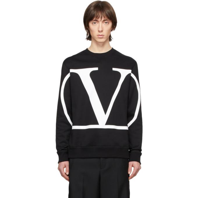 Photo: Valentino Black VLogo Sweatshirt