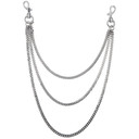 1017 Alyx 9SM Silver Wallet Chain