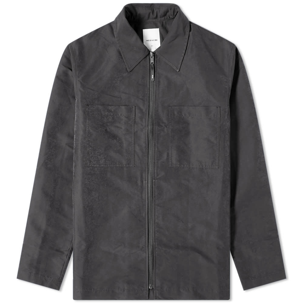 Wood Wood Egon Zip Shirt