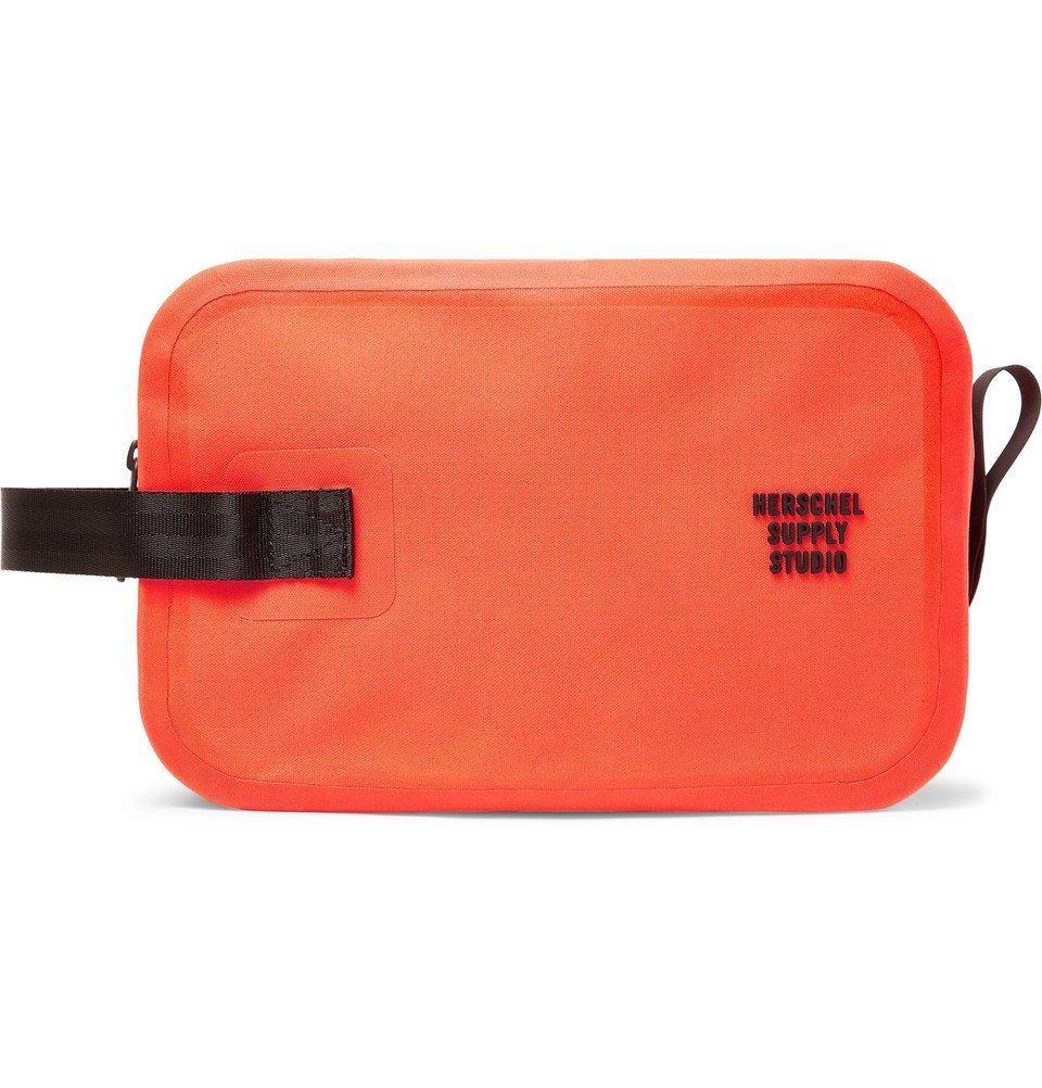 Photo: Herschel Supply Co - Studio Chapter Tarpaulin Wash Bag - Orange