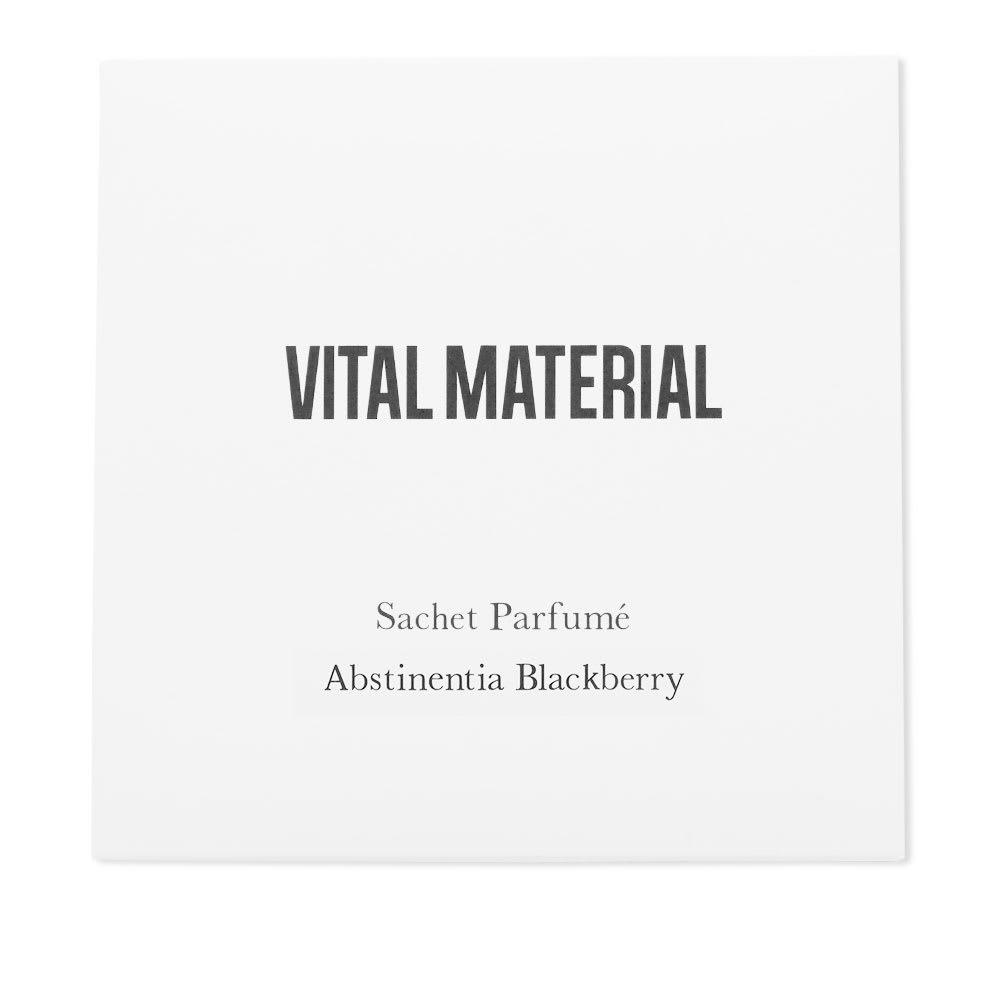 Photo: Vital Material Abstinentia Blackberry Soy Wax Sachet
