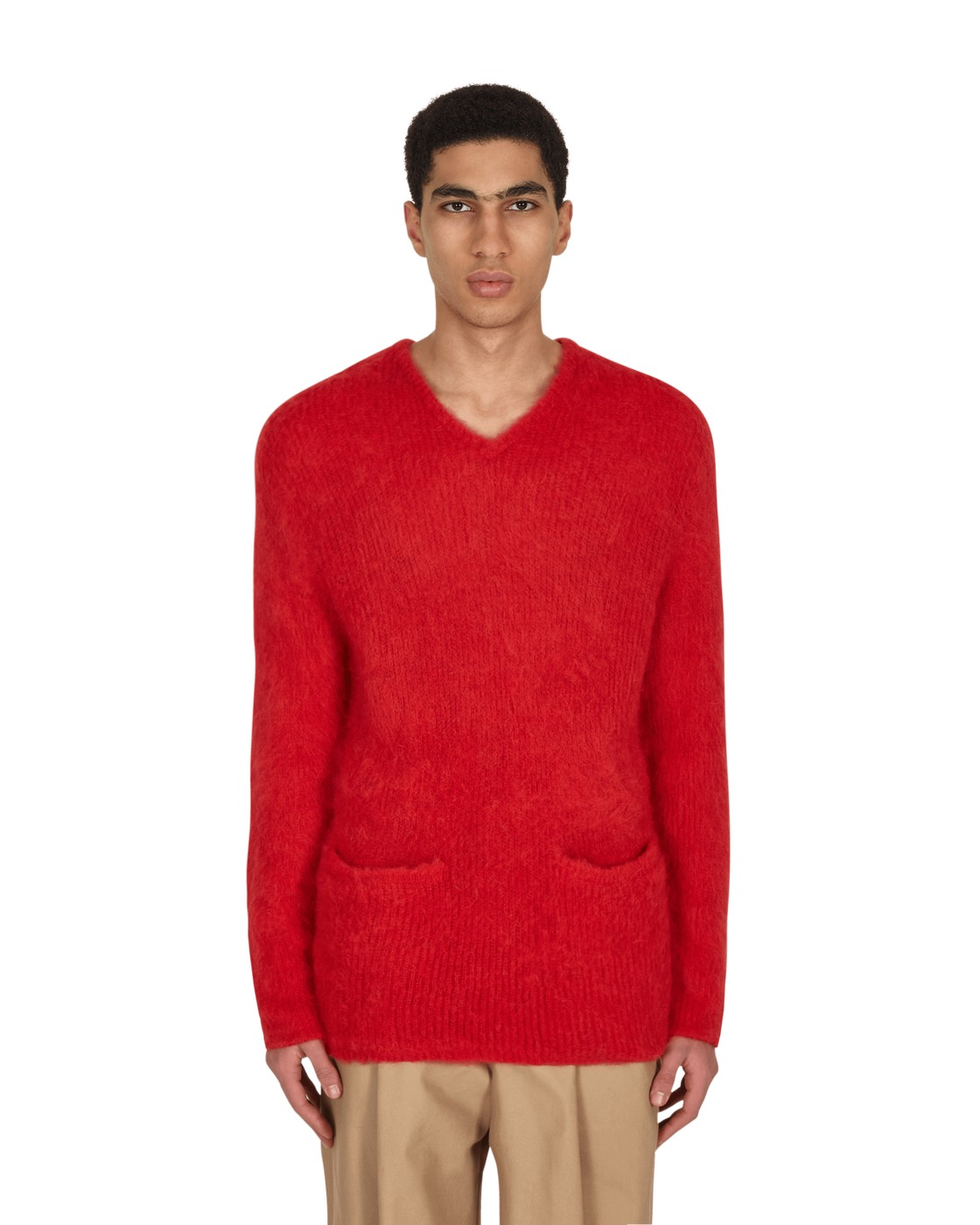 Photo: Neighborhood Mohair Sweater Red