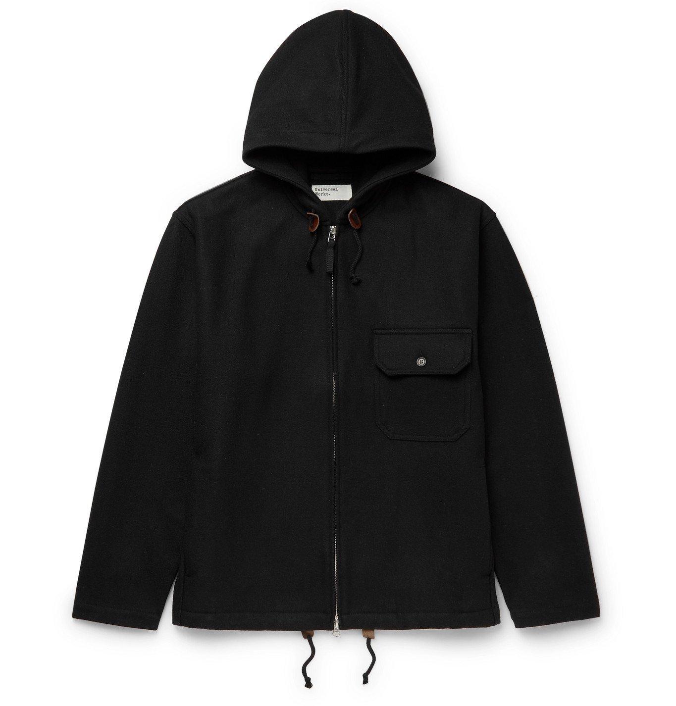 Photo: Universal Works - Fistral II Wool-Blend Jacket - Black