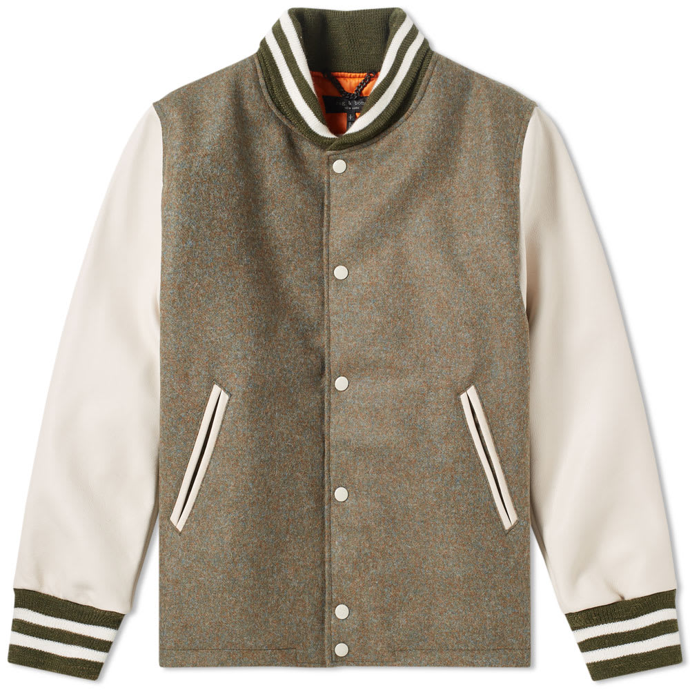 Photo: Rag & Bone x Golden Bear Varsity Jacket