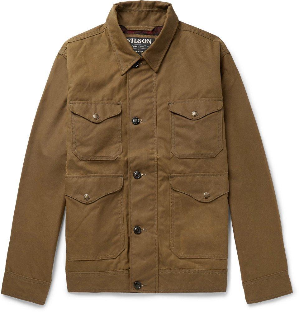 Filson - Waxed-Cotton Jacket - Men - Brown