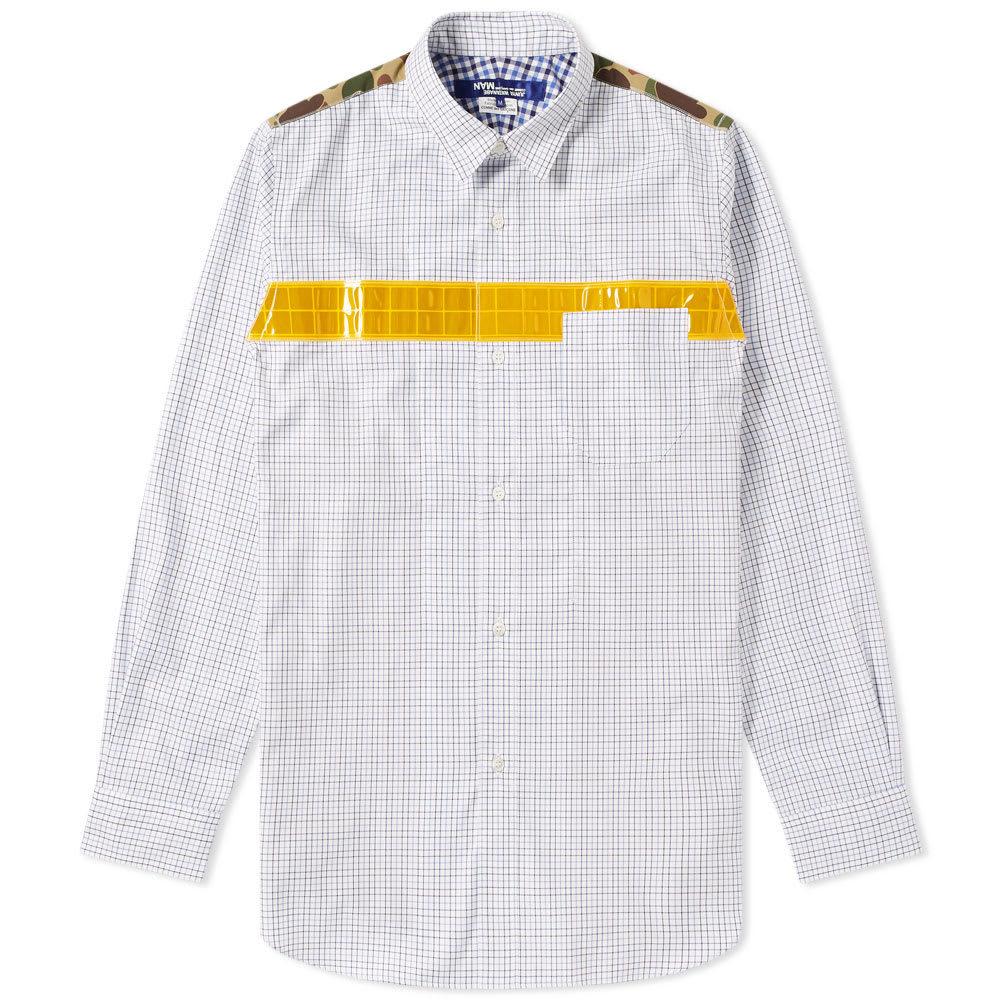 Photo: Junya Watanabe MAN Reflective Taped Shirt