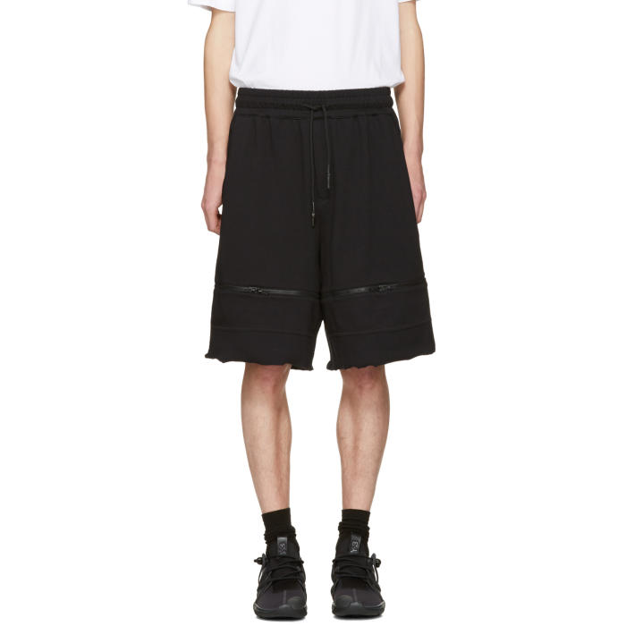 Y-3 Black M Trnsfrm Shorts