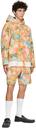 Martine Rose Orange Barambo Shorts