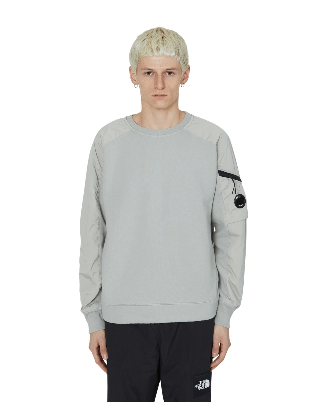 C.P. Company Slam Jam Exclusive Dyed Crewneck Sweatshirt Grey