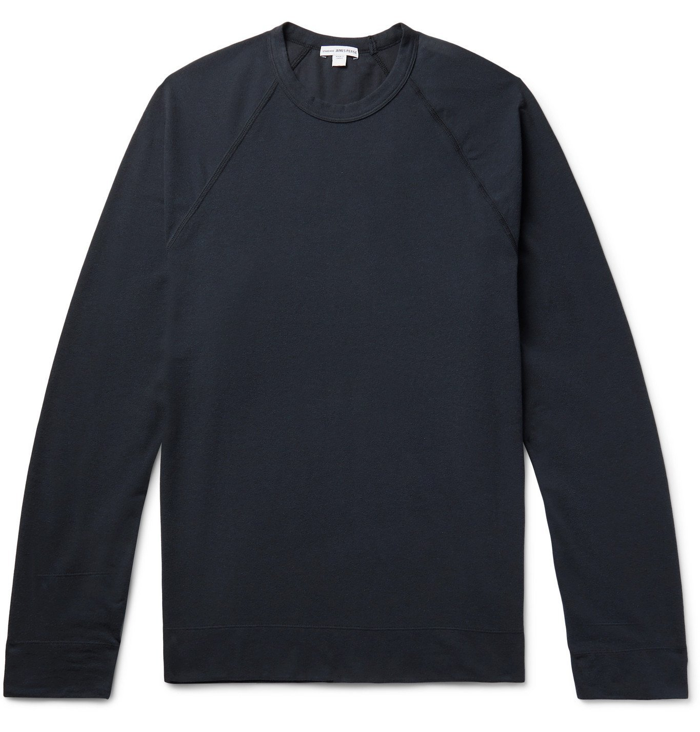 Photo: James Perse - Brushed Cotton-Blend Jersey T-Shirt - Blue