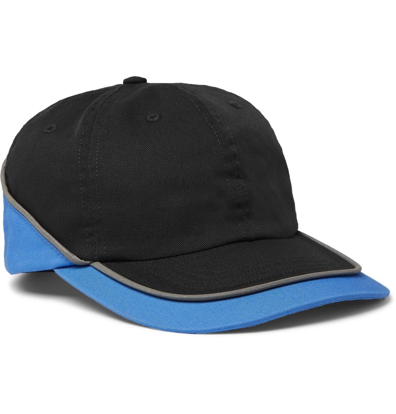Photo: AFFIX - Colour-Block Cotton-Twill Baseball Cap - Gray