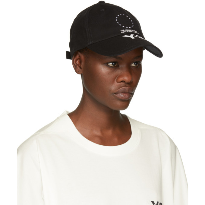 Y-3 Black Logo Street Cap