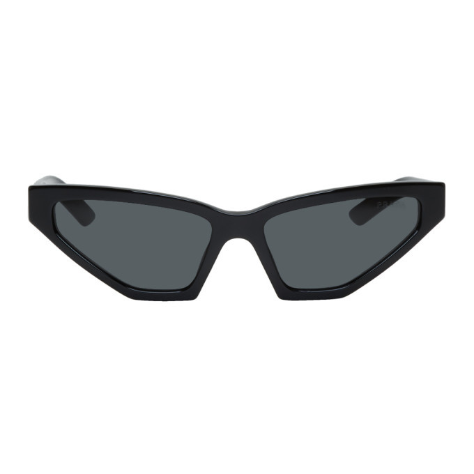 Photo: Prada Black Square Cat Eye Sunglasses