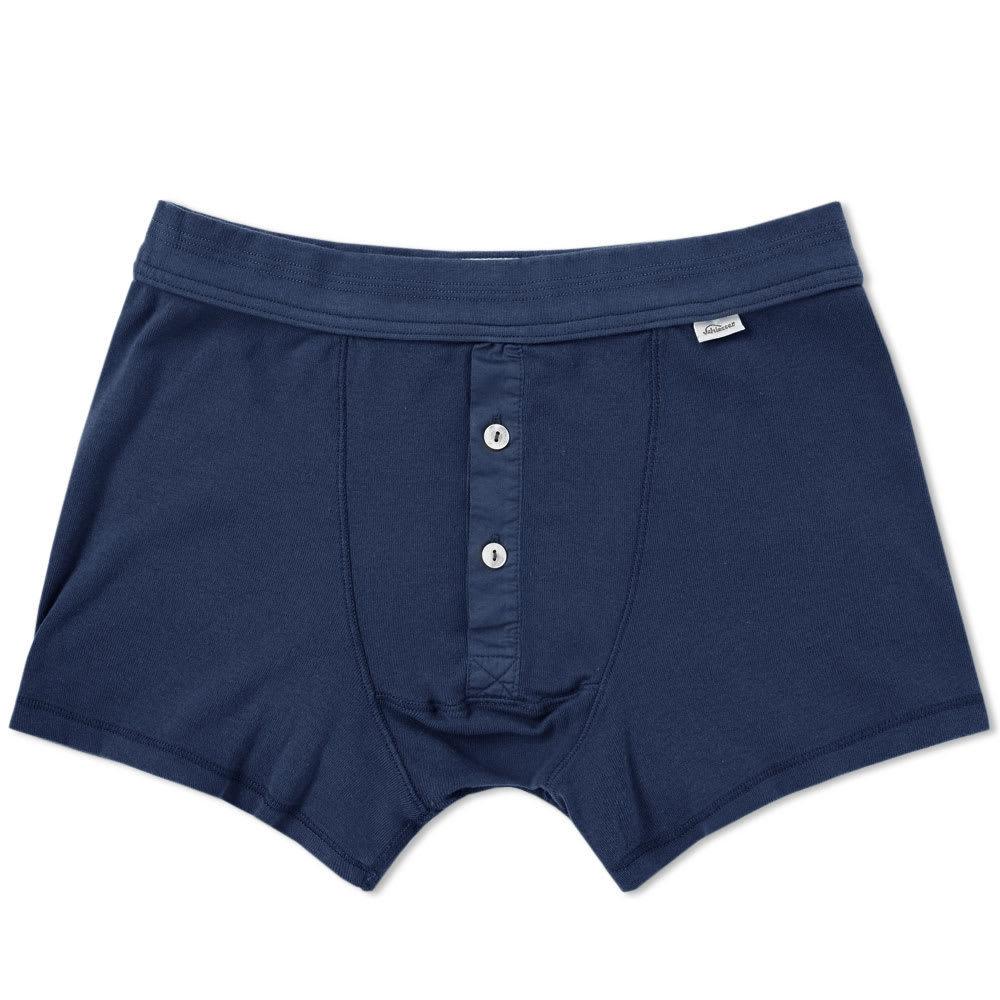 Schiesser Karl-Heinz Boxer Short Blue