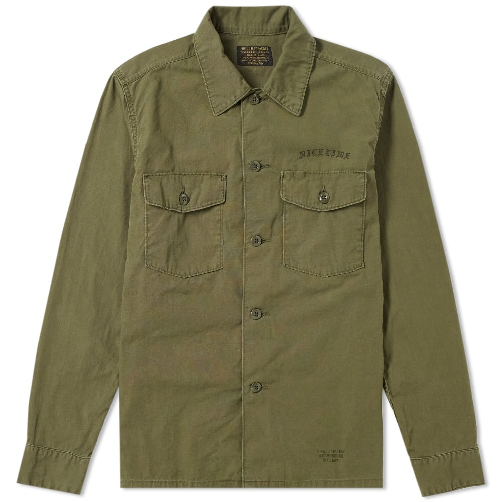 Photo: Wacko Maria Classic Army Shirt Jacket