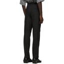 GmbH Black Wool Tailored Trousers
