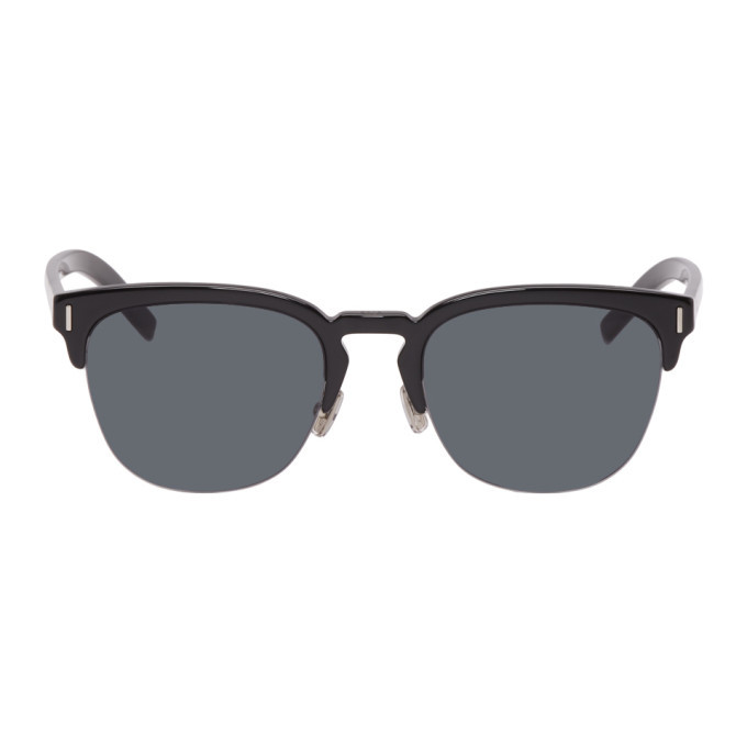 Photo: Dior Homme Black DiorFraction 6F Sunglasses