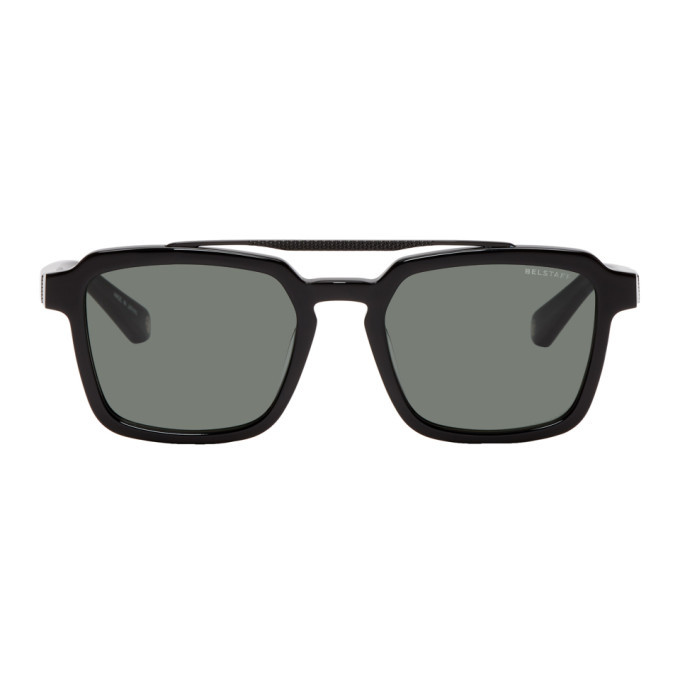 Photo: Belstaff Black Cassell Sunglasses