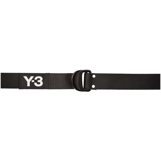 Photo: Y-3 Black Logo Belt