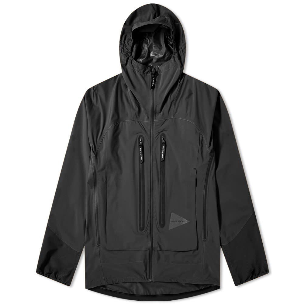 Photo: And Wander 2.5 Layer Rain Jacket