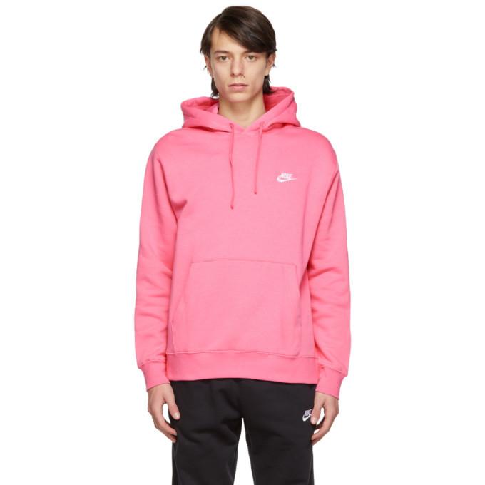 Photo: Nike Pink Sportswear Club Hoodie