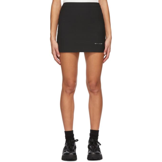 Photo: 1017 ALYX 9SM Black Formal Tailoring Miniskirt